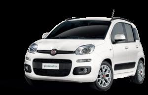 Autovermietung El Hierro Mietwagen Fiat Panda Red Line Rent a Car