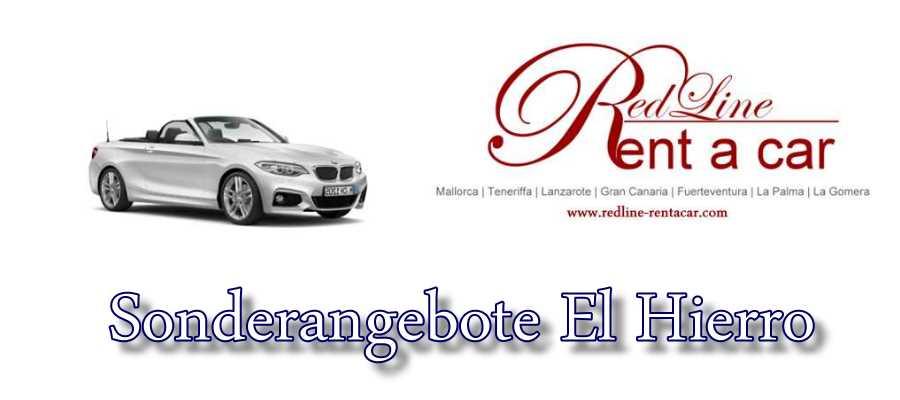 Autovermietung El Hierro - Sonderangebote Mietwagen El Hierro.
