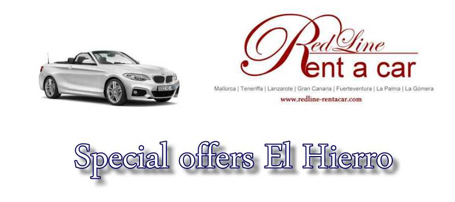 Rent a Car El Hierro - Special offers car rental El Hierro.