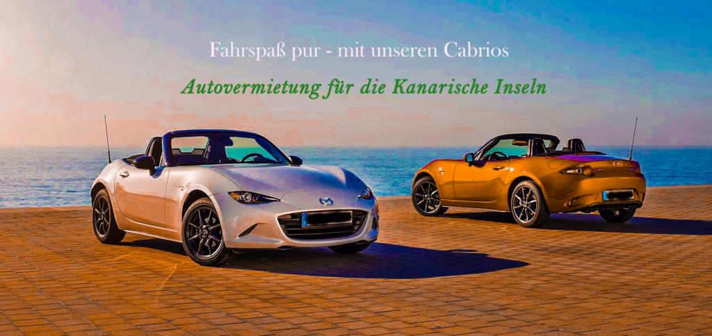 Autovermietung El Hierro – Cabrio Mietwagen
